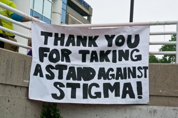 Taking a stand against stigma